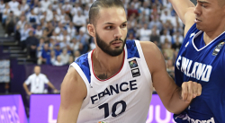 Evan Fournier a pris les choses en main contre l'Allemagne