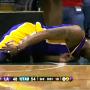 Kobe Bryant Los Angeles Lakers Kyrylo Fesenko