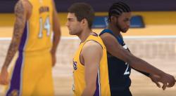 Gameplay : Les images du premier match sur NBA 2K18