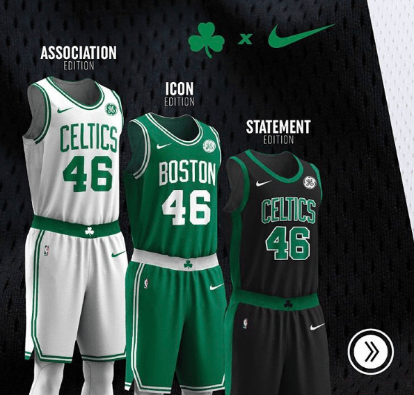 boston celtics maillots nba
