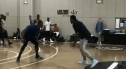 Melo et Westbrook ont l'air méga affûtés dans ce pick up game