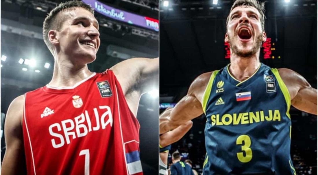 Eurobasket 2017 : une finale Serbie-Slovénie bouillante