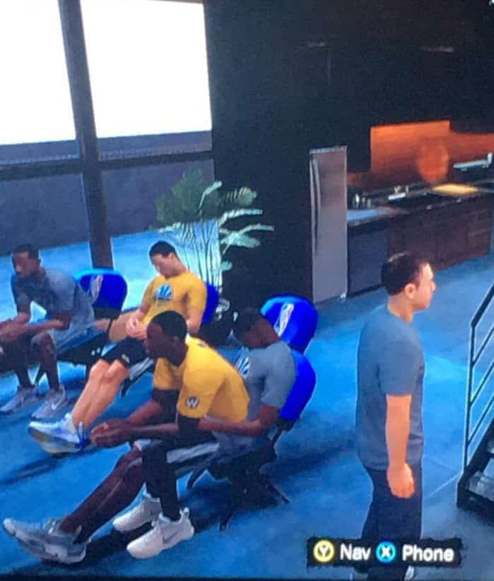 Kevin Durant et Draymond Green très intimes… sur NBA 2K18