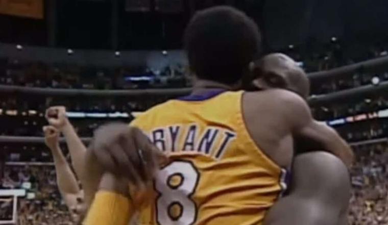 Shaq : «Il n'y a pas de mots, je t'aime Kobe»