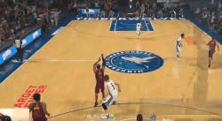 La défaite complètement folle d'un joueur sur NBA 2K18