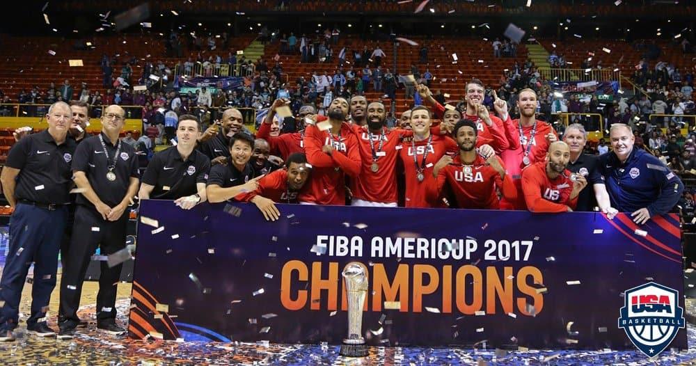 Même avec des peintres, Team USA a gagné l'AmeriCup…
