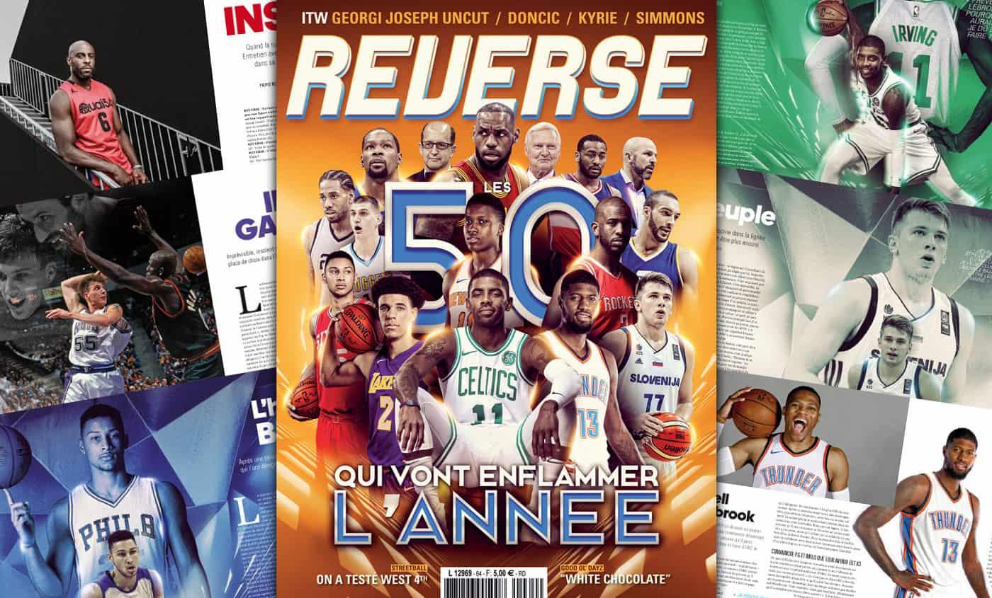REVERSE #64 : Les 50 qui vont enflammer l'année !