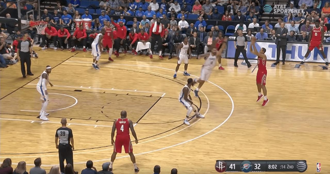 Coup de chaud : les 24 paniers à trois points des Rockets