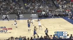 Folie : les 40 points de Stephen Curry en trois quart-temps
