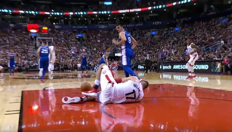 Les Raptors perdent Jonas Valanciunas