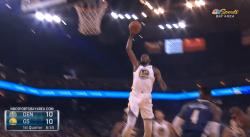 KD reprend ses habitudes : Un gros dunk sur les Nuggets