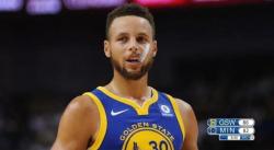 Perf : Stephen Curry s'offre un premier carton face aux Wolves