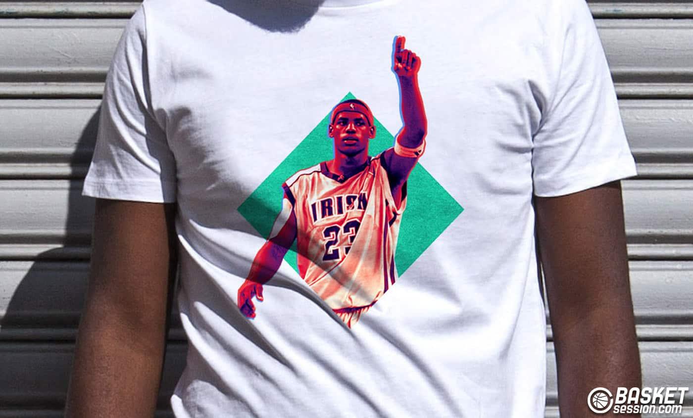 Le t-shirt du jour : Young LeBron