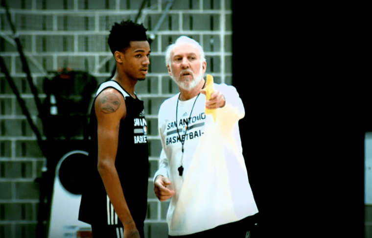 Dejounte Murray : « J'ai beaucoup appris de Tony Parker »