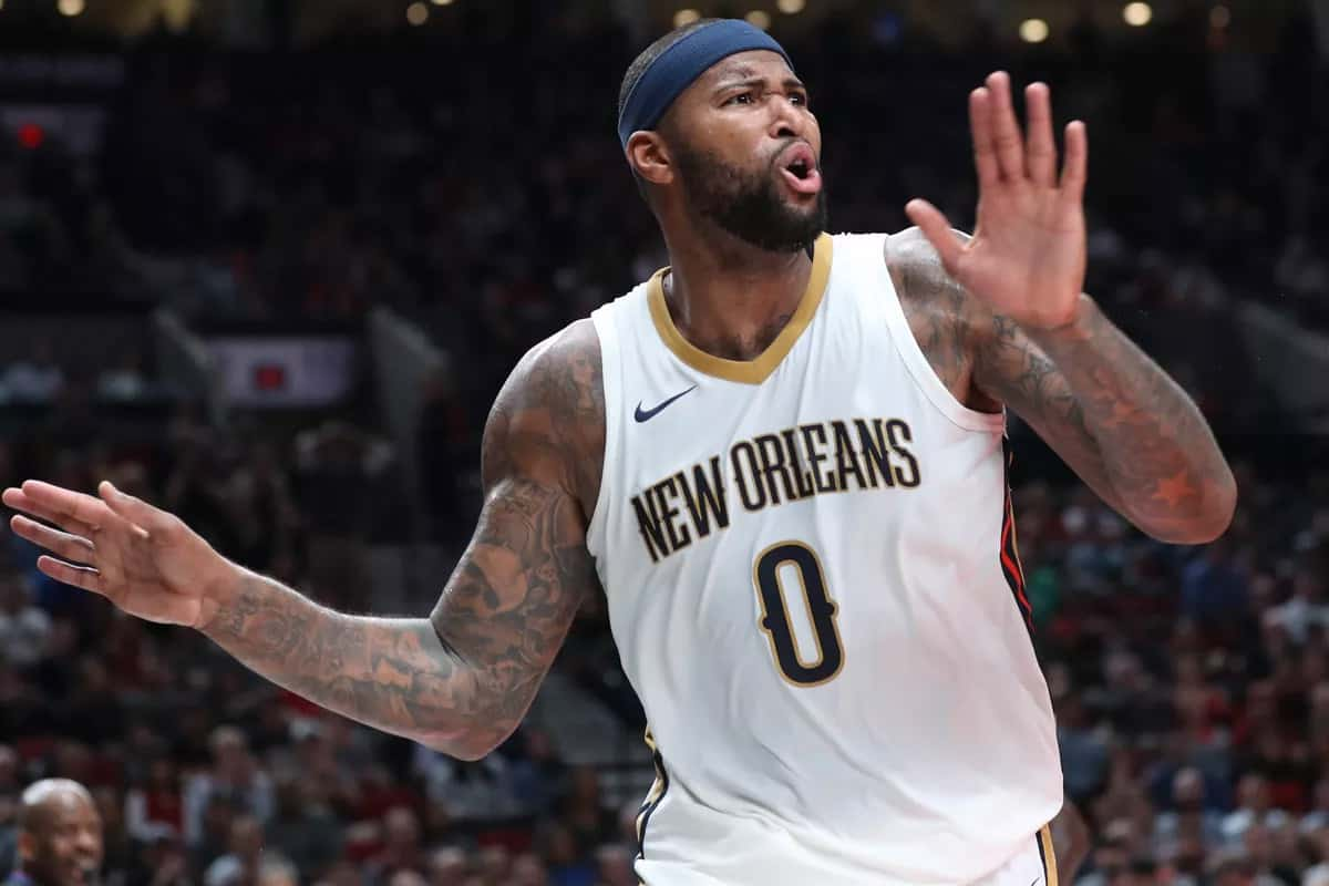 DeMarcus Cousins s'engage avec les Golden State Warriors !
