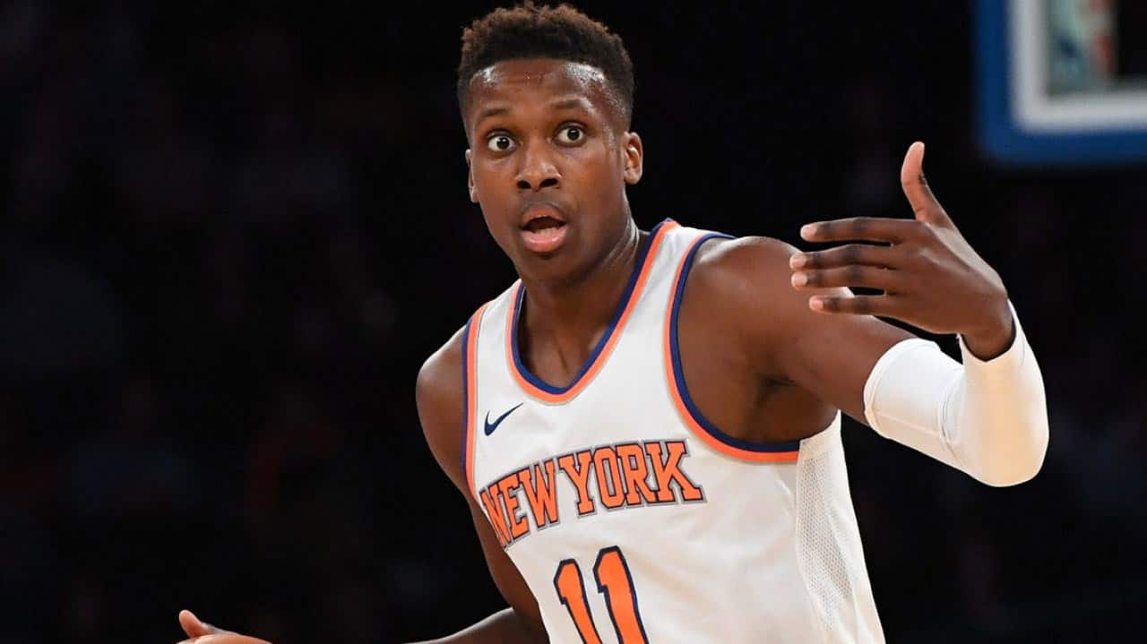 Comment Frank Ntilikina a éteint Trae Young