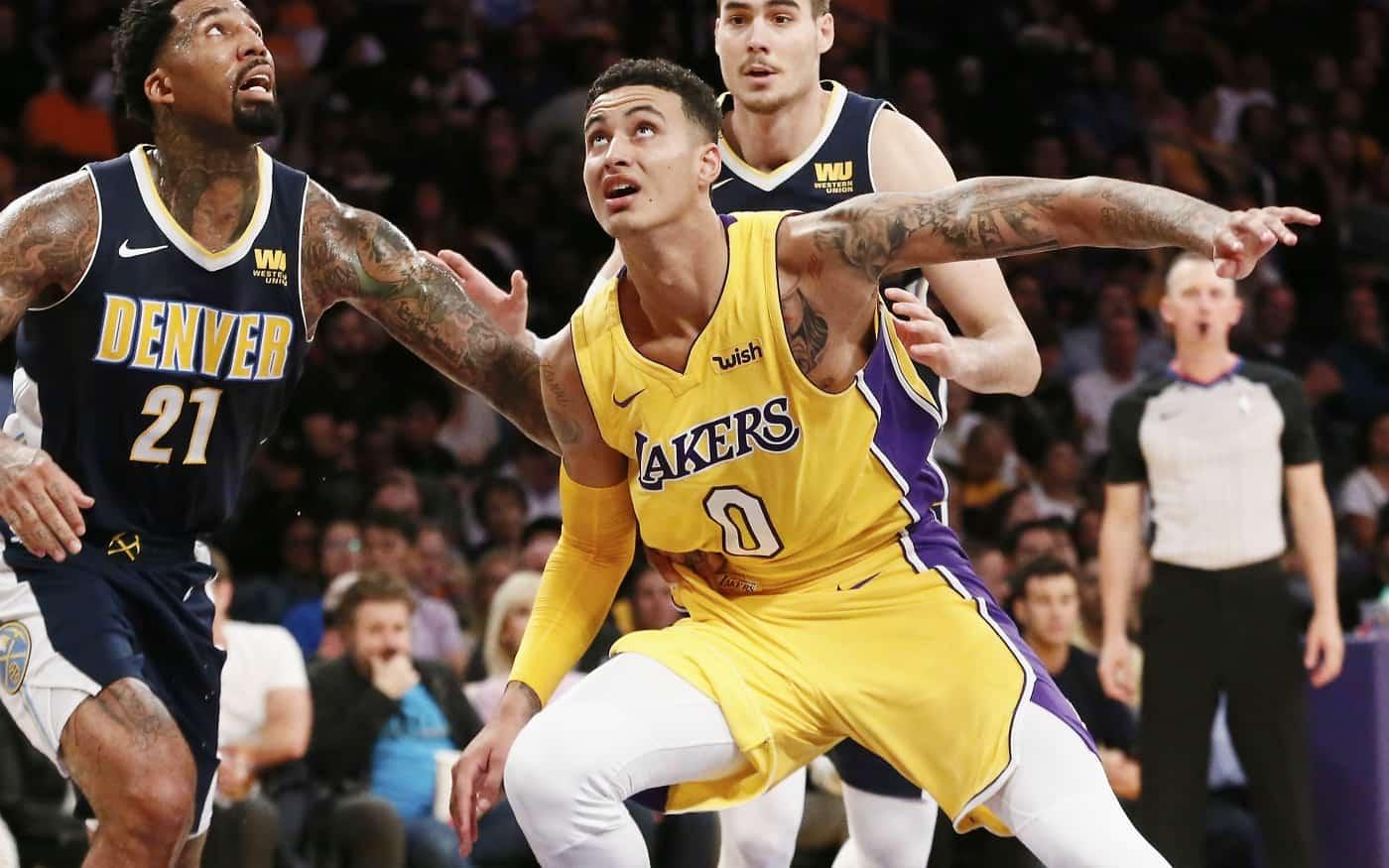 Les Lakers doivent sacrifier Kyle Kuzma pour Anthony Davis