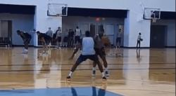 Carmelo vs Paul George, ça dépote en un contre un