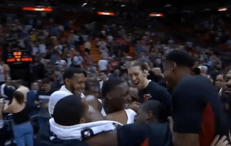 Jordan Mickey sort un game winner pour le Heat face à Washington