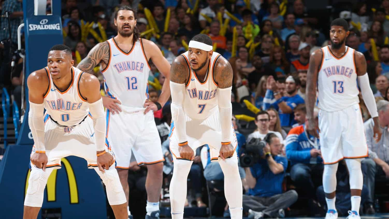 Le Big Three d'OKC gère les Nuggets