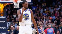 Pour le MVP, Kevin Durant a son grand gagnant…