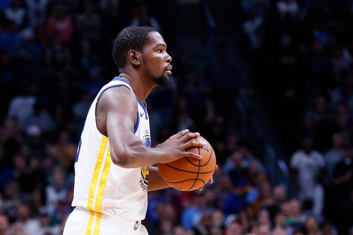Kevin Durant forfait pour les games 3 et 4