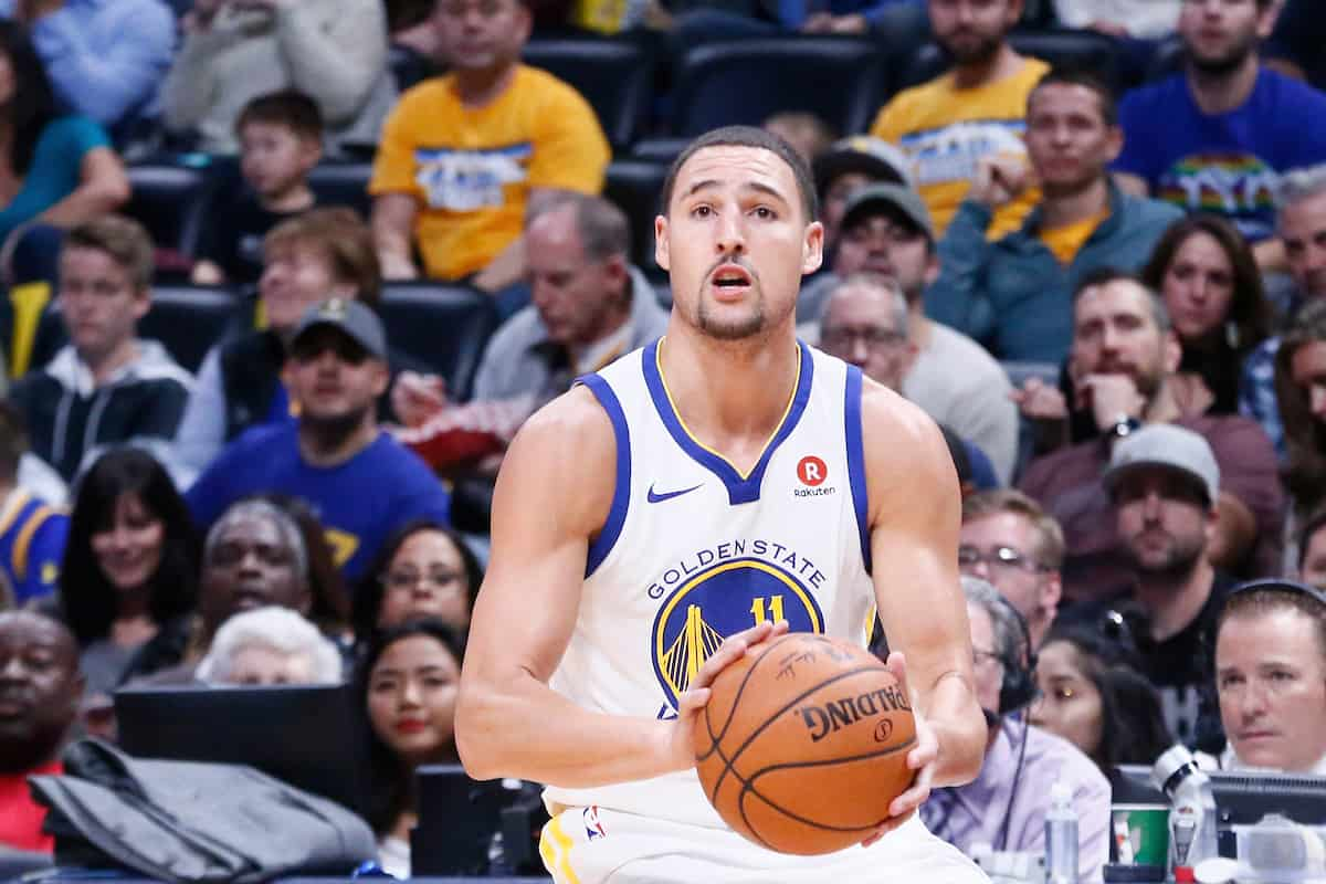 Klay Thompson, 43 points en… quatre dribbles !