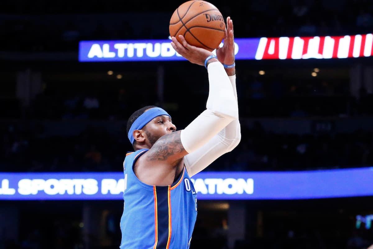 Carmelo Anthony devrait sortir du banc