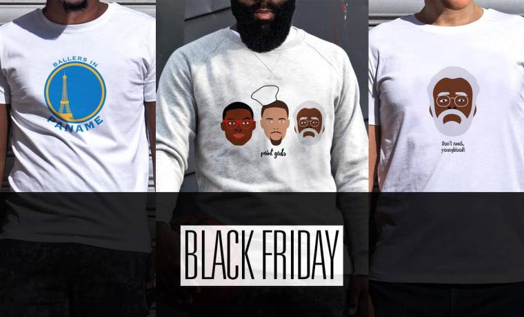 Black Friday : -25% sur toute notre boutique !