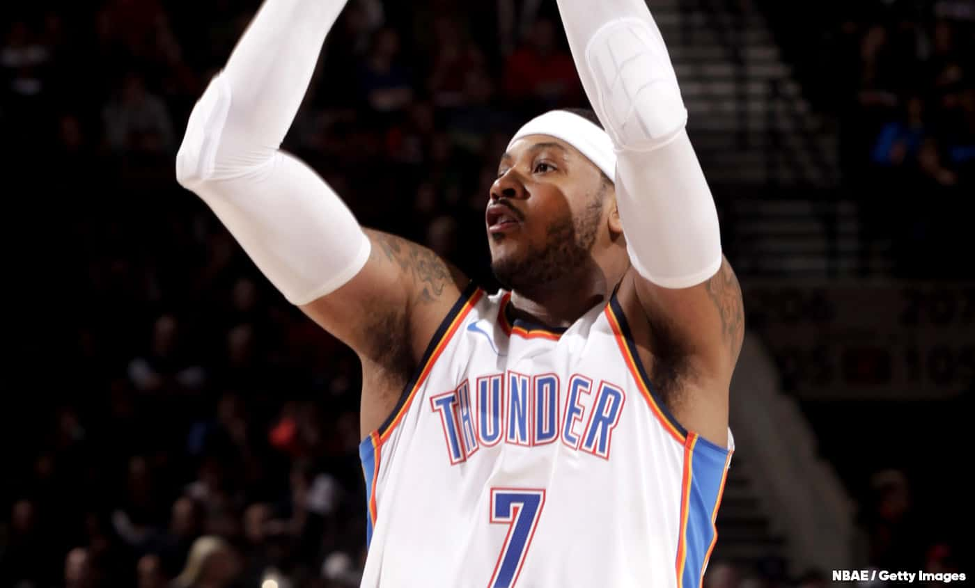 Carmelo Anthony : « OKC, pas un bon fit »