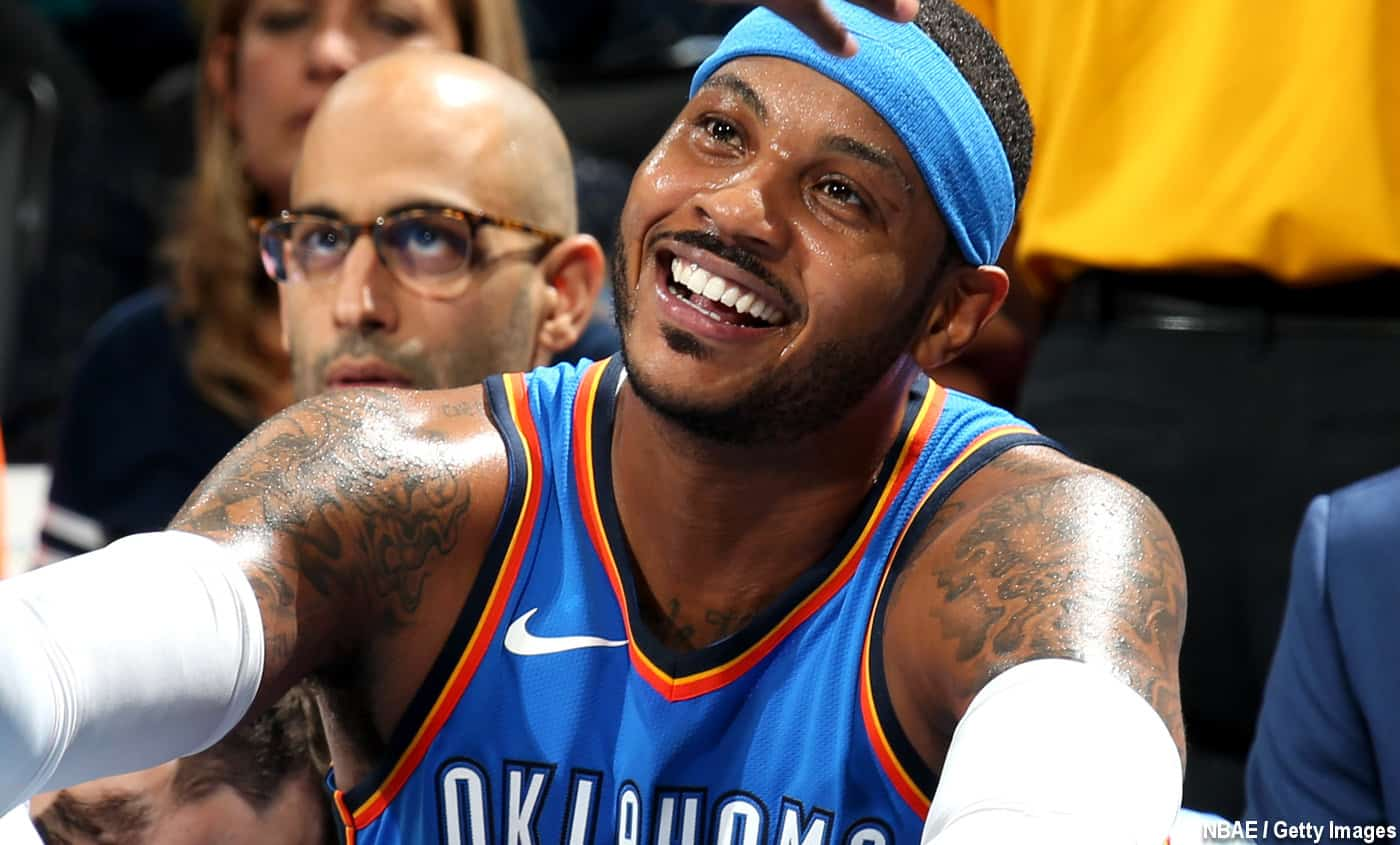 Carmelo Anthony Atlant Hawks Houston Rockets
