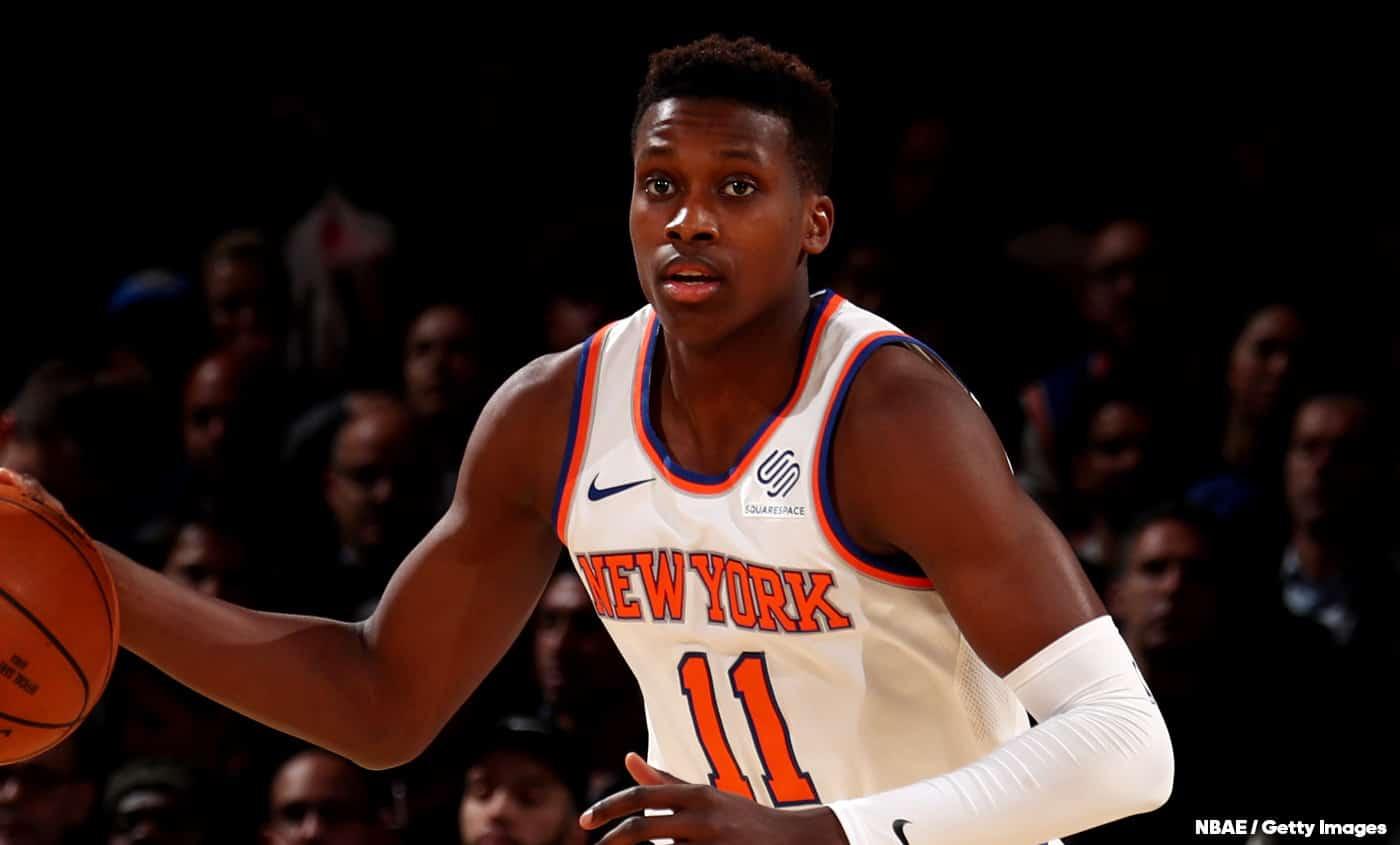 C'est l'heure, les Knicks doivent mettre Ntilikina dans le cinq