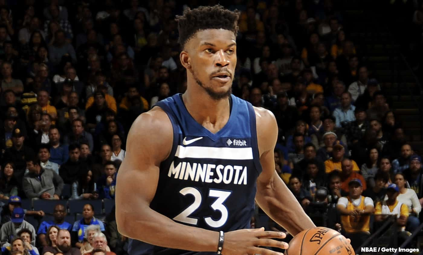 Jimmy Butler chambre les frères Wiggins