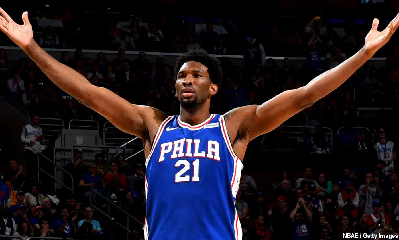 Joel Embiid sort un match culte (46 pts, 15 rbds, 7 pds, 7 ctres) au Staples Center !