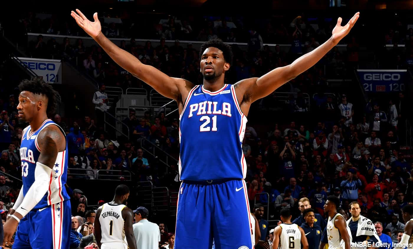 Joel Embiid riposte contre Boston : « Nos fans sont plus bruyants »