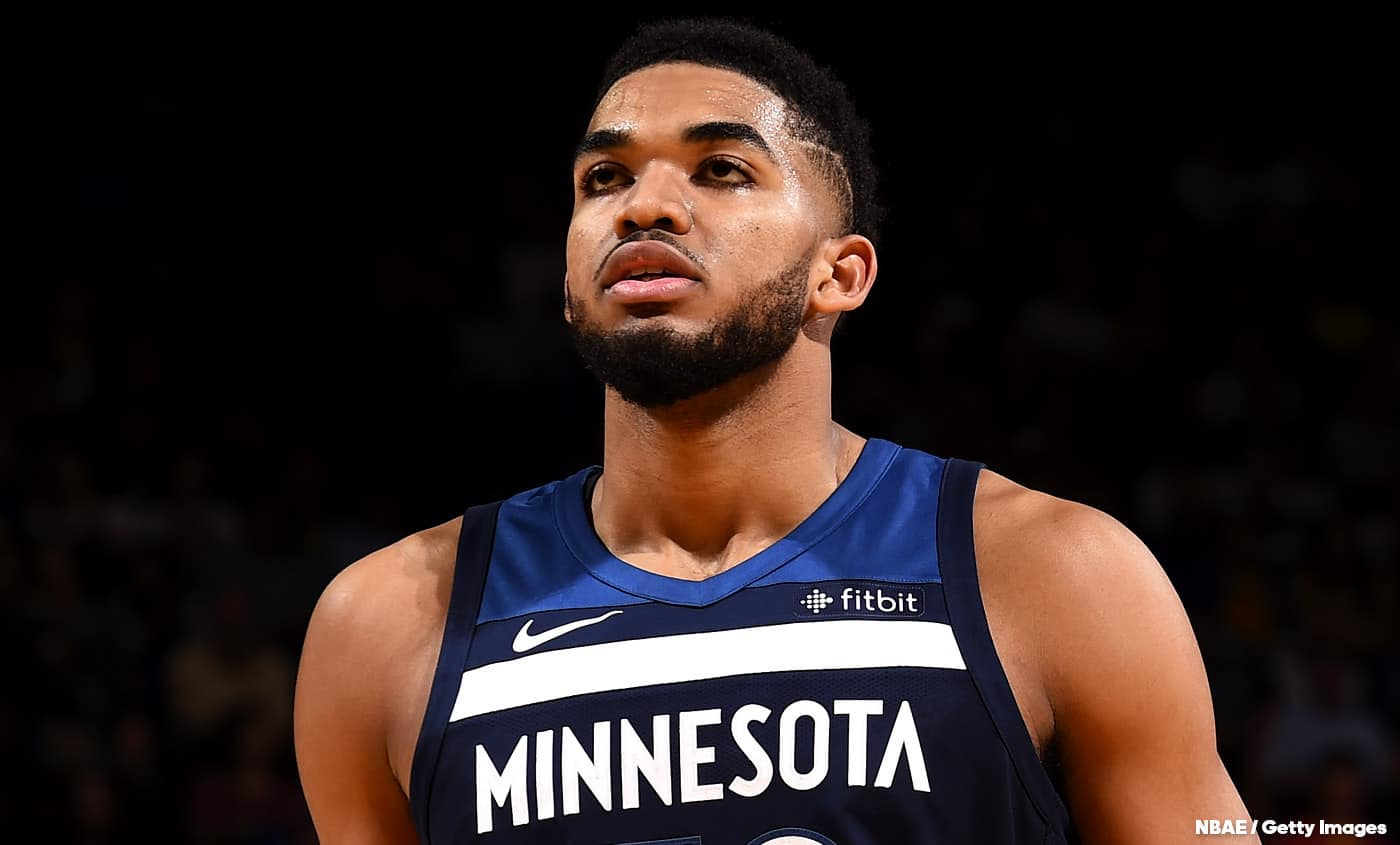 Karl-Anthony Towns met un stop violent à LeBron
