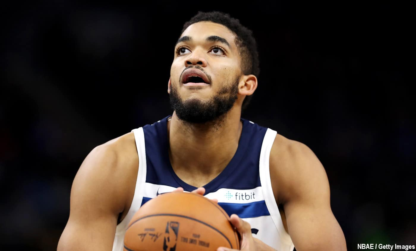 Zach LaVine drague encore Karl-Anthony Towns