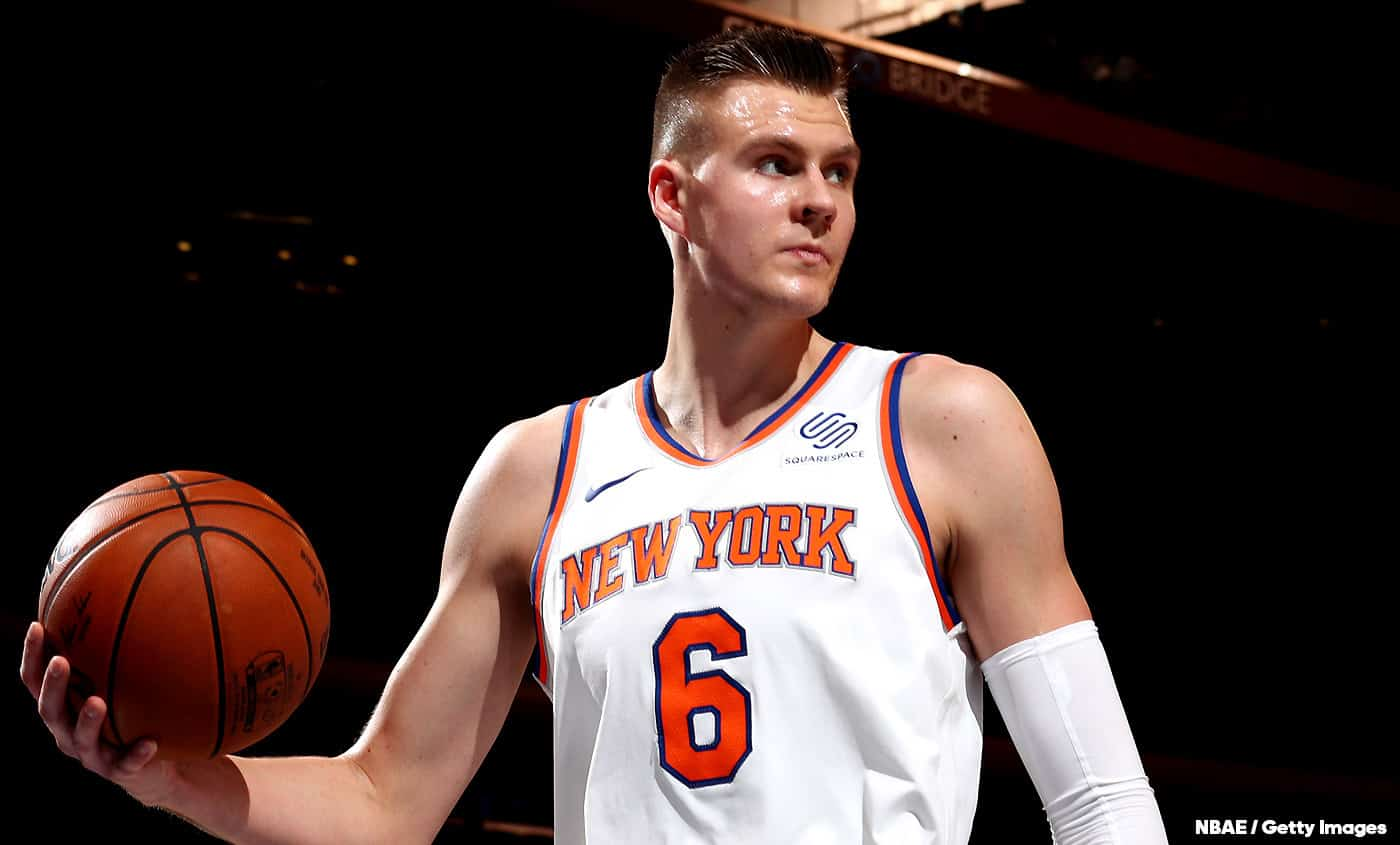 Les Knicks ont essayé de chopper Fox contre Porzingis