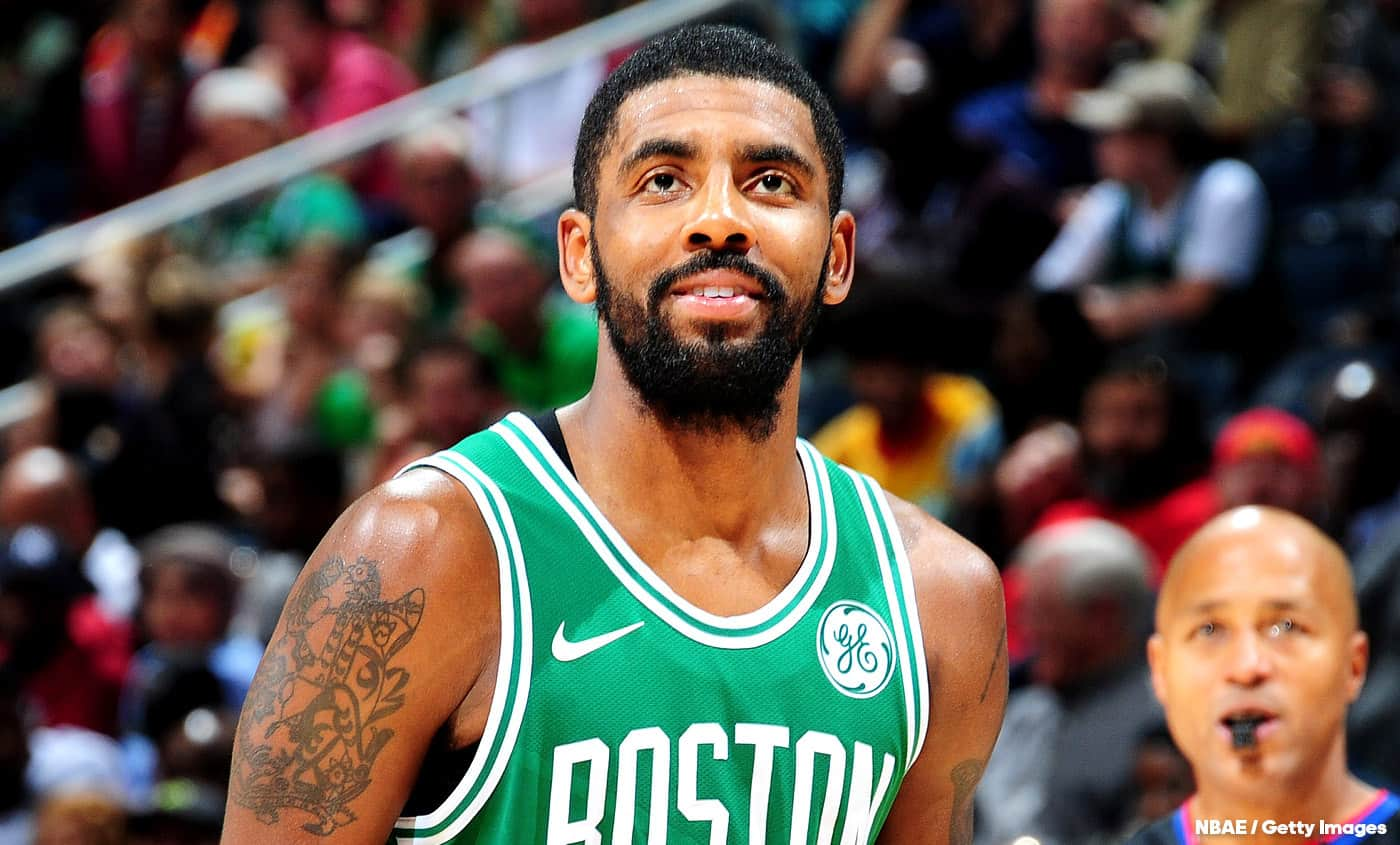 Kyrie Irving veut attirer Anthony Davis à Boston