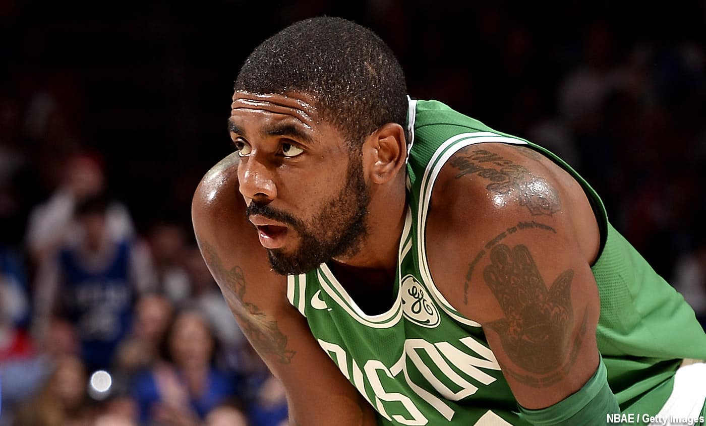 Kyrie Irving ne promet plus de rester à Boston…