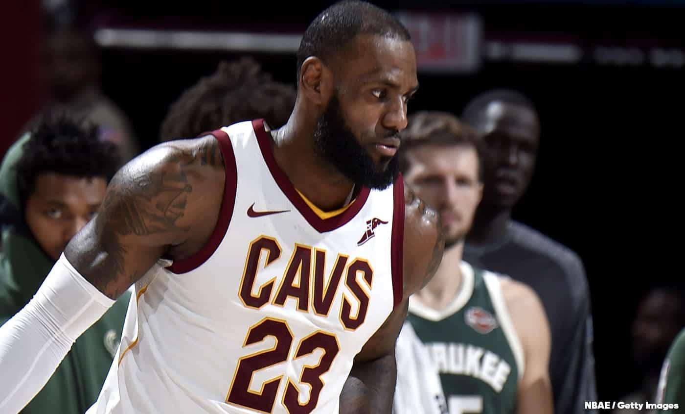 Grâce à LeBron, Cleveland est l'équipe du moment