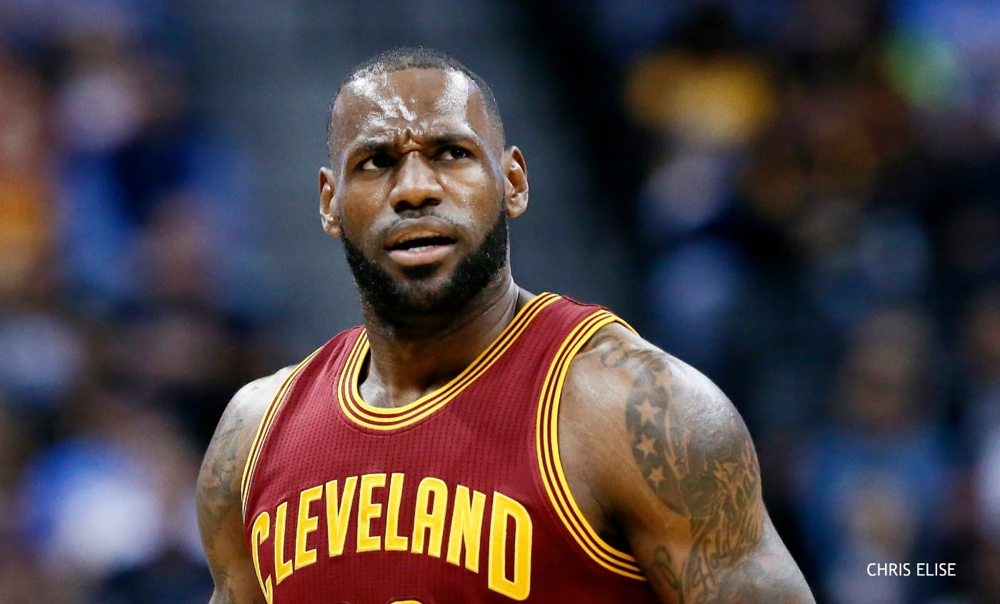 LeBron James n'aimerait pas la ville de Houston