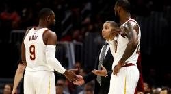 LeBron : «Il y a des Cavs qui ne voulaient pas de Wade»