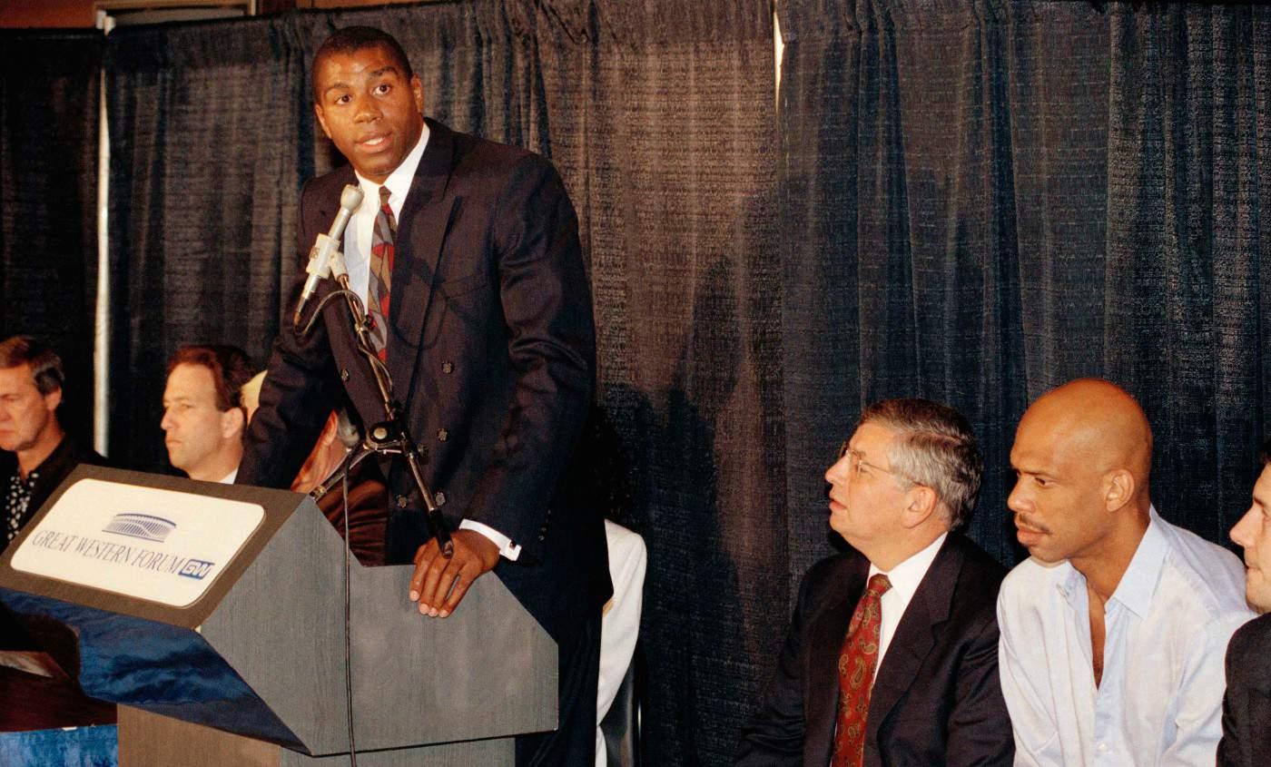 Il y a 26 ans, Magic Johnson annonçait sa séropositivité