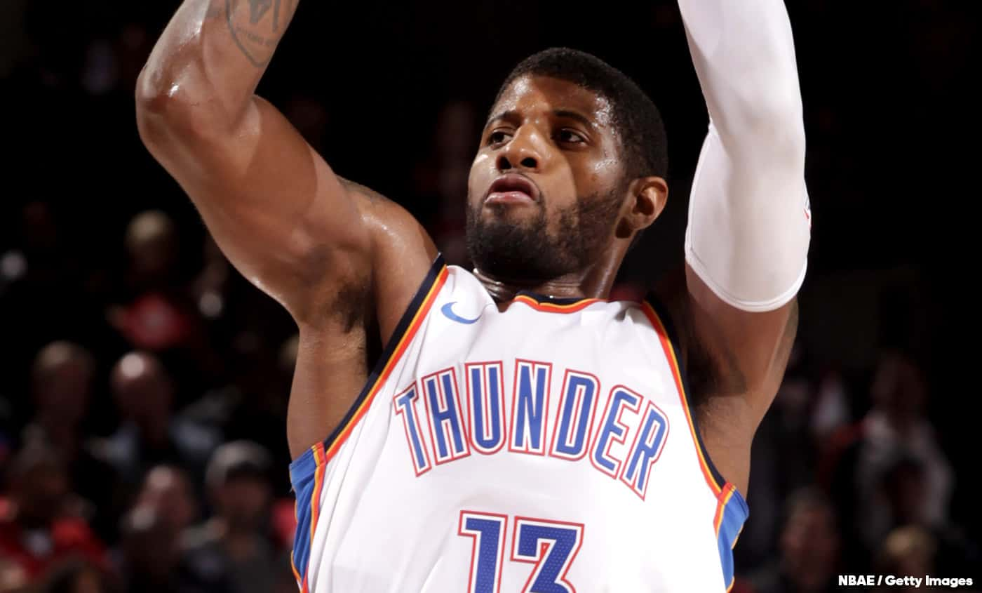 Demain, Oklahoma City devait célébrer le… Paul George Day