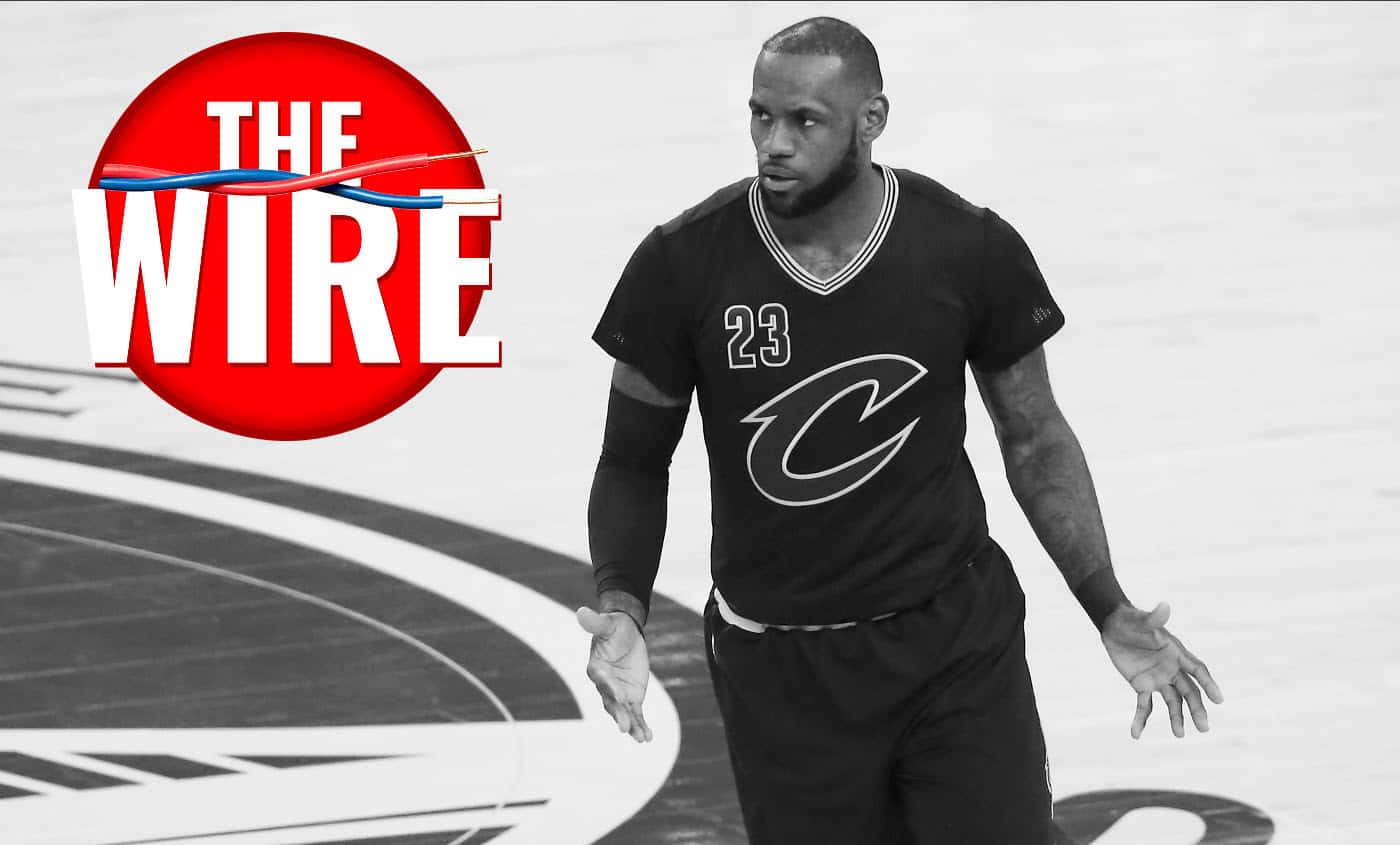 The Wire : LeBron James tacle Enes Kanter, Dirk valide Kristaps