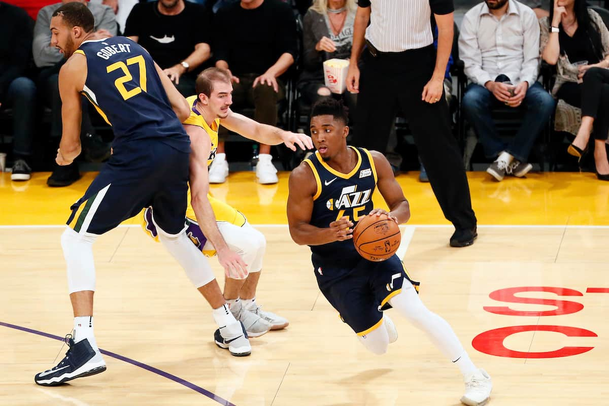 Rookie on fire : Donovan Mitchell plante 41 points !