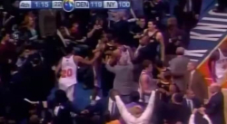 Il y a 11 ans, le match Knicks-Nuggets virait à la baston générale