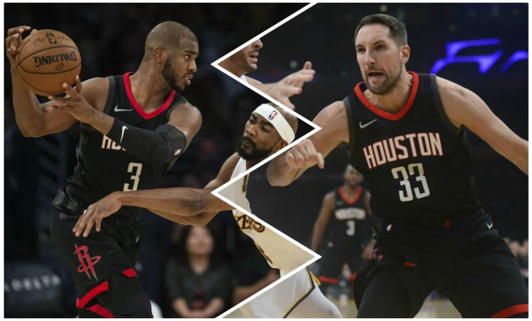 Paul et Anderson, le pur duo dévastateur du team Rockets
