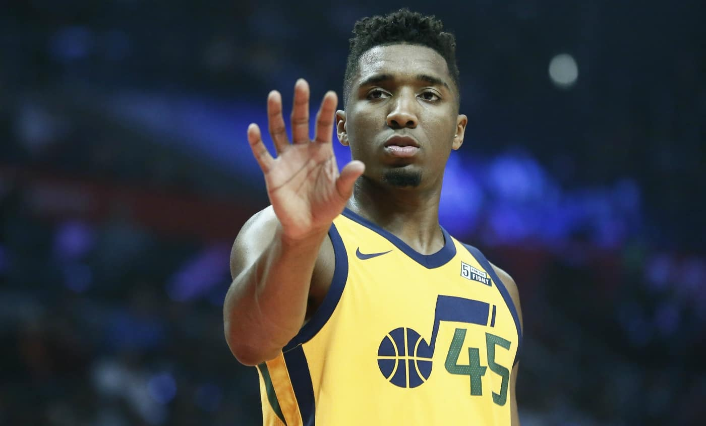 Le rookie Donovan Mitchell plante encore 40 points !